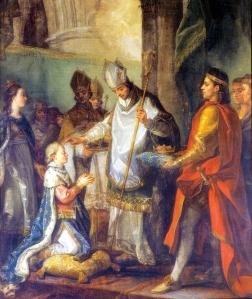 Sagração de São Luís, Rei de França